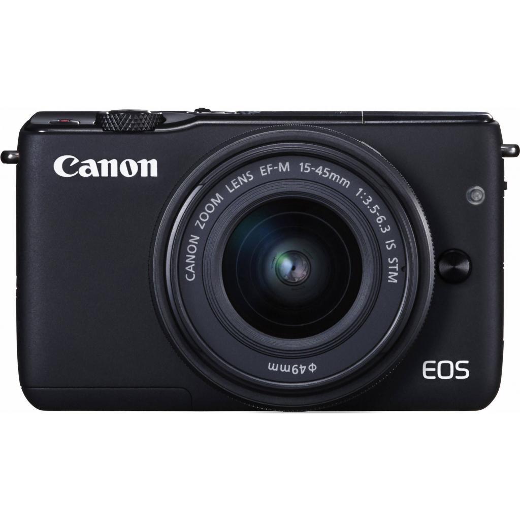 Цифровой фотоаппарат Canon EOS M10 15-45 IS STM Black Kit (0584C040) изображение 2