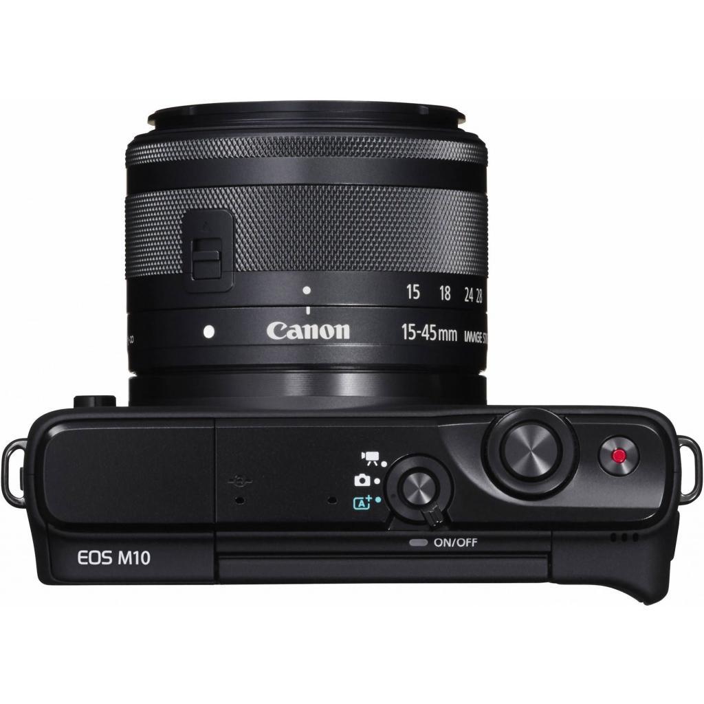Цифровой фотоаппарат Canon EOS M10 15-45 IS STM Black Kit (0584C040) изображение 6