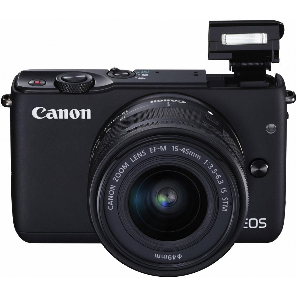 Цифровой фотоаппарат Canon EOS M10 15-45 IS STM Black Kit (0584C040) изображение 7