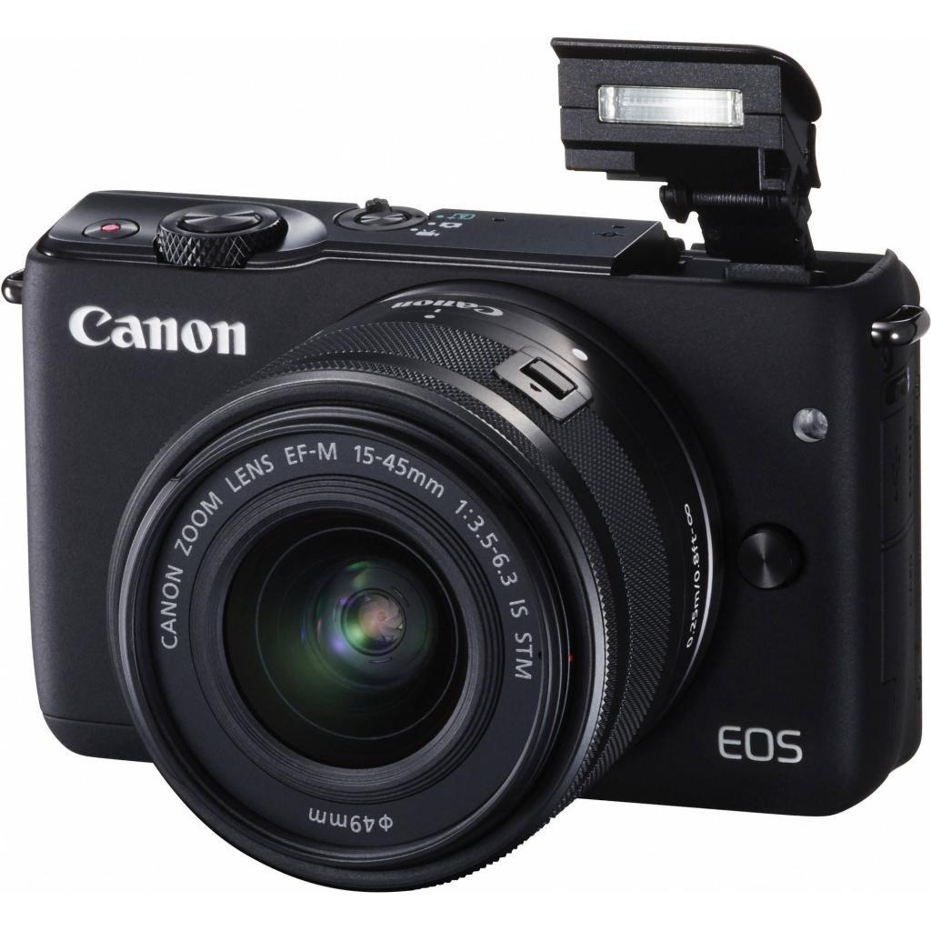 Цифровой фотоаппарат Canon EOS M10 15-45 IS STM Black Kit (0584C040) изображение 8