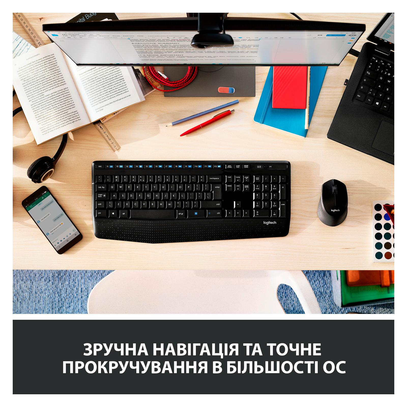 Мышка Logitech M280 Black (910-004287) изображение 4