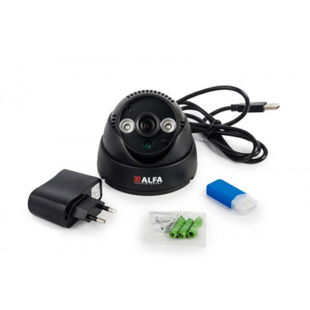 Комплект видеонаблюдения ALFA Agent 4 LED