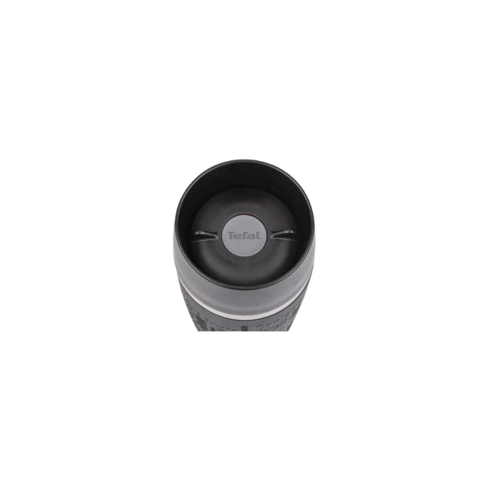 Термокружка Tefal TRAVEL MUG 0.36L raspb/silver (K3087114) изображение 3