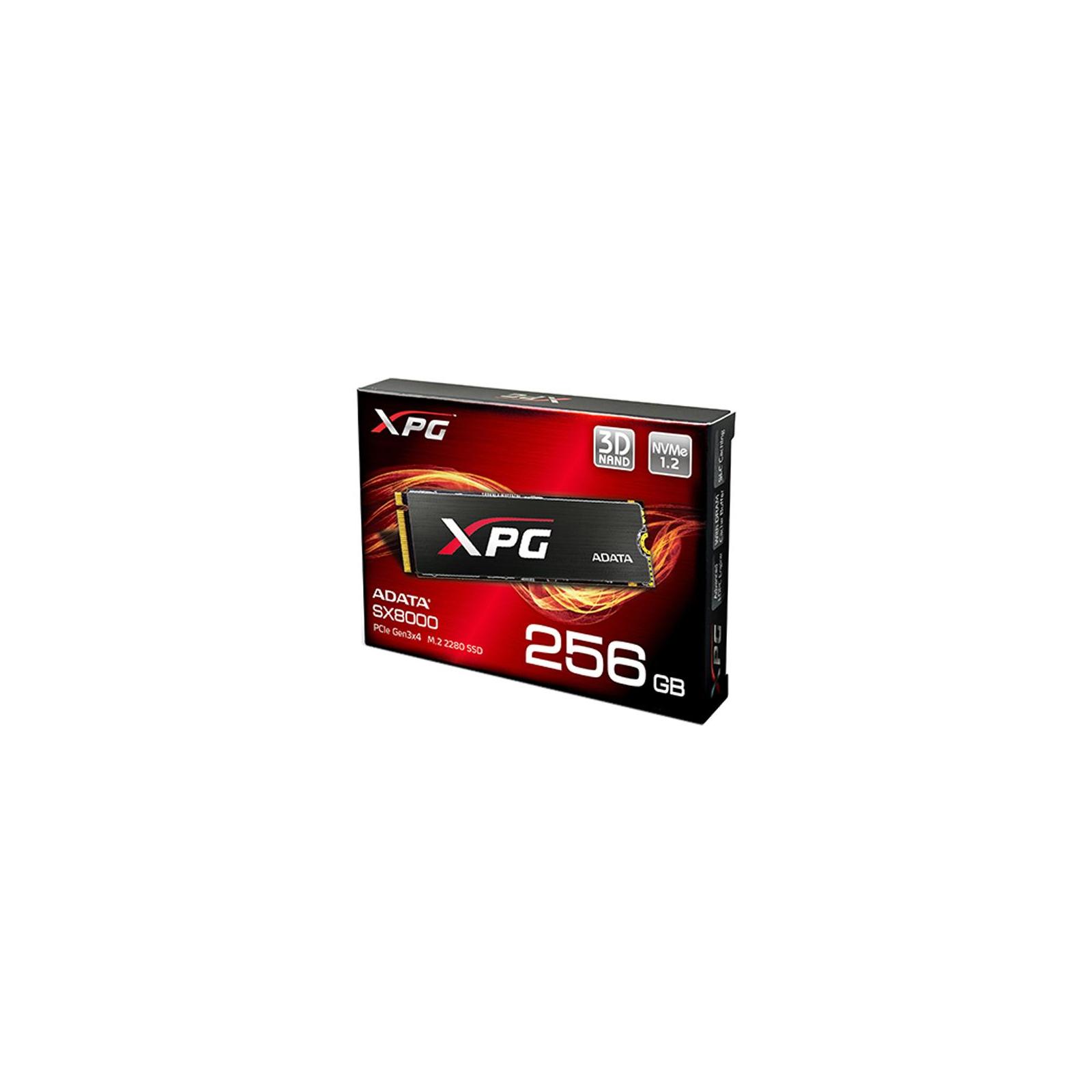 Накопитель SSD M.2 2280 256GB ADATA (ASX8000NPC-256GM-C) изображение 8