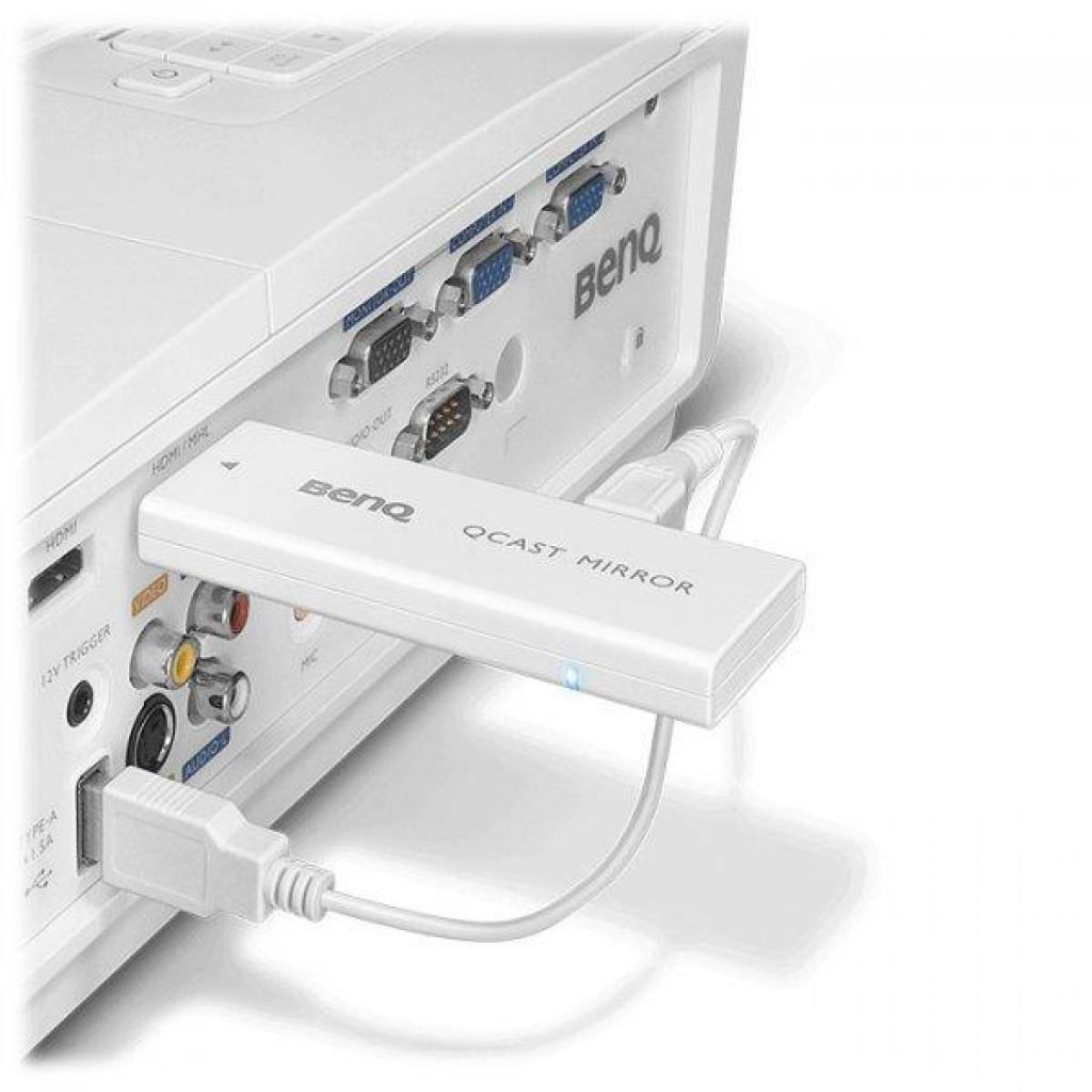 Беспроводной адаптер BenQ QCAST(QP20) (5A.JH328.10E) изображение 6