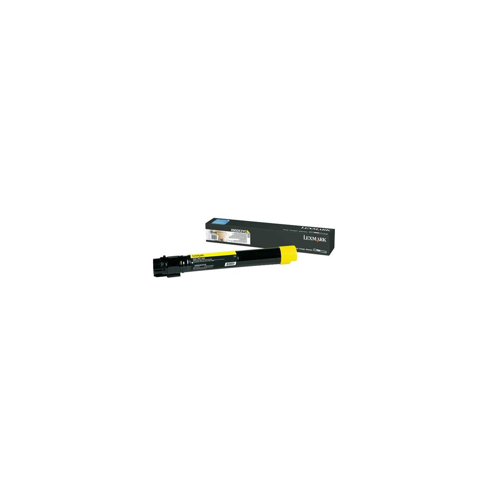 Картридж LEXMARK X95x Yellow (X950X2YG)