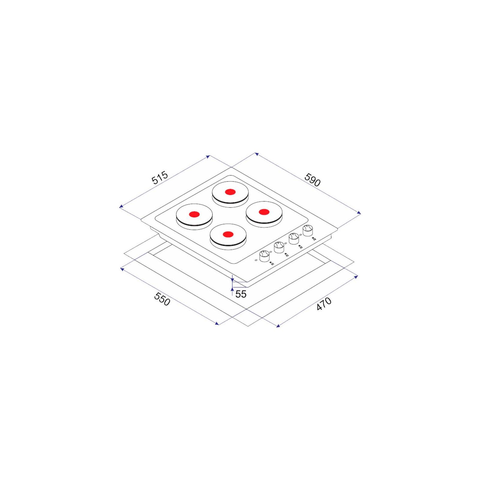 Варочная поверхность MINOLA ME 6403 I изображение 4