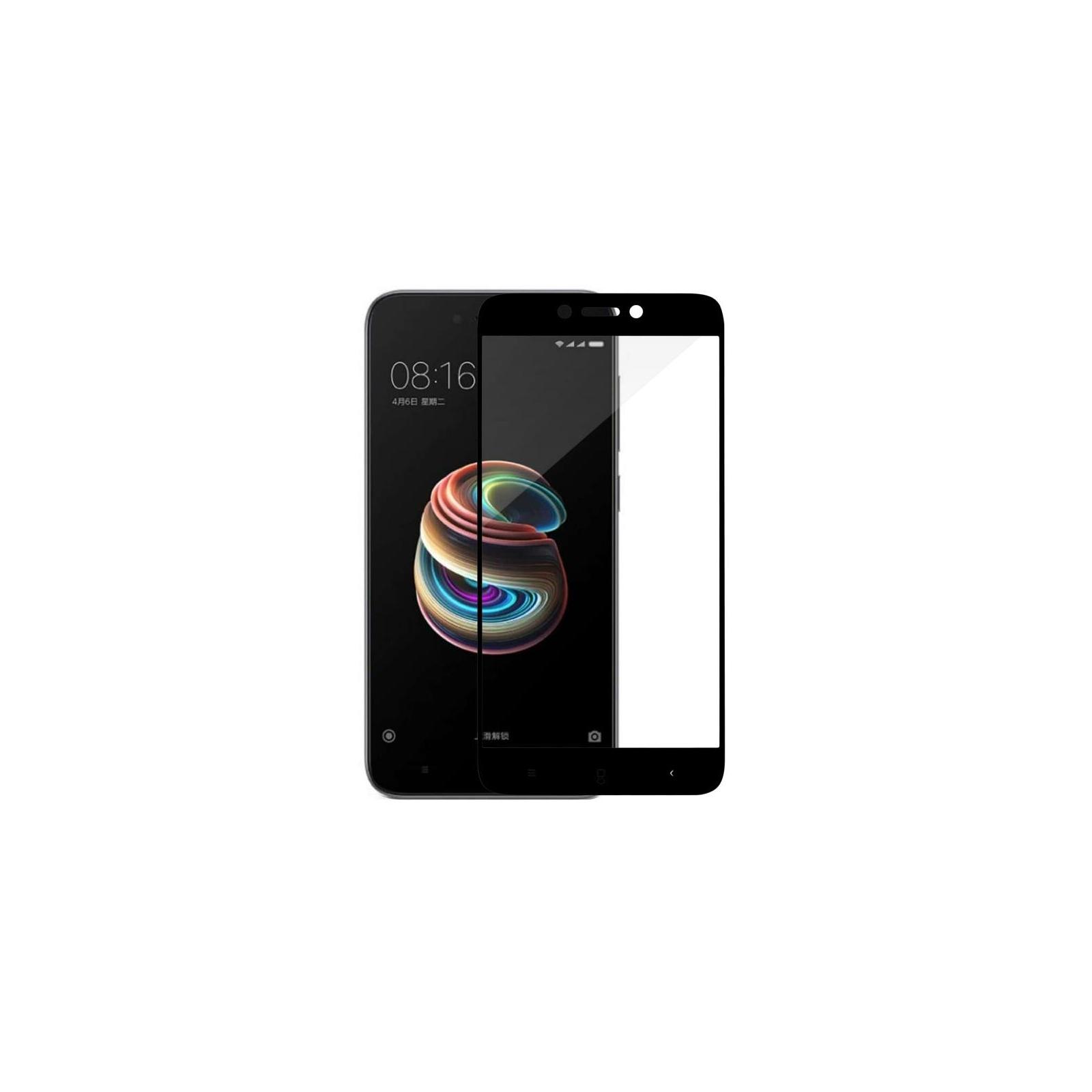 Стекло защитное MakeFuture для Xiaomi Redmi 5A Black Full Cover Full Glue (MGFCFG-XR5AB) изображение 4