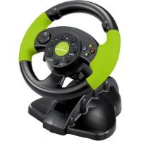 Руль Esperanza PC/PS3/XBOX 360 Black-Green (EG104)