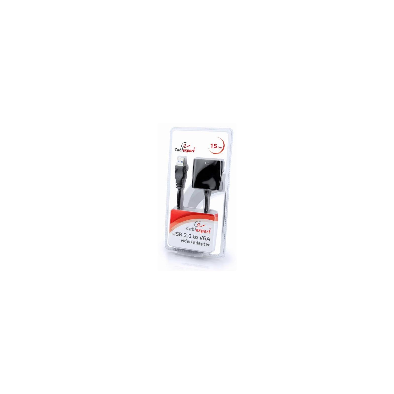 Переходник USB3.0 - VGA Cablexpert (AB-U3M-VGAF-01) изображение 2