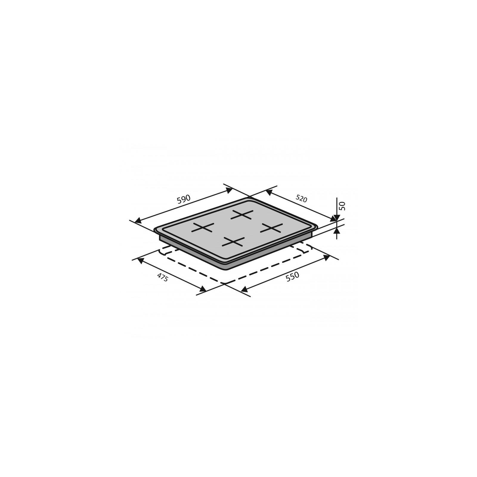 Варочная поверхность VENTOLUX HSF640-L3 BT (BK) изображение 8