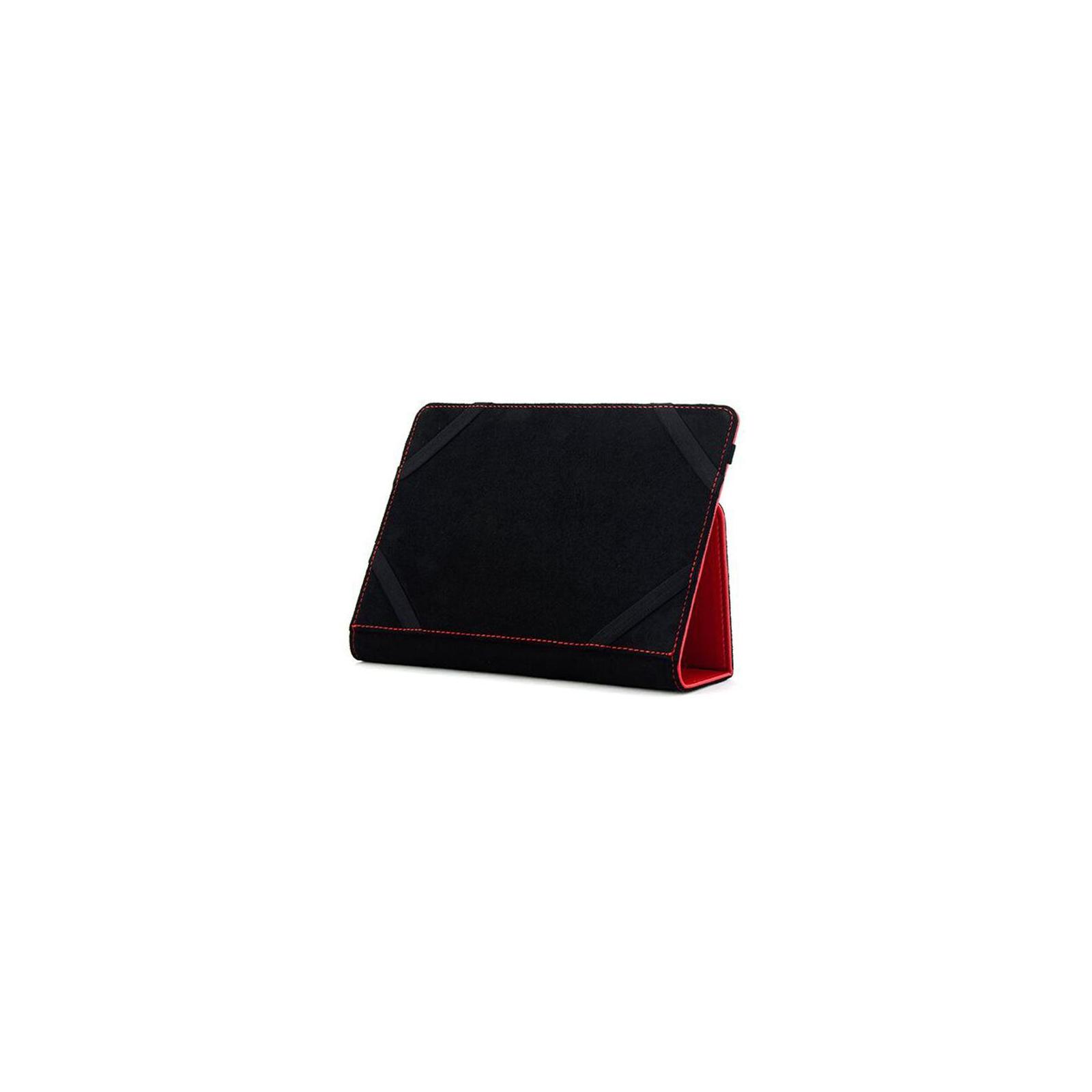"""Чехол для планшета Drobak 10""""-10.1"""" снежинки (Red) (446808) изображение 2"""