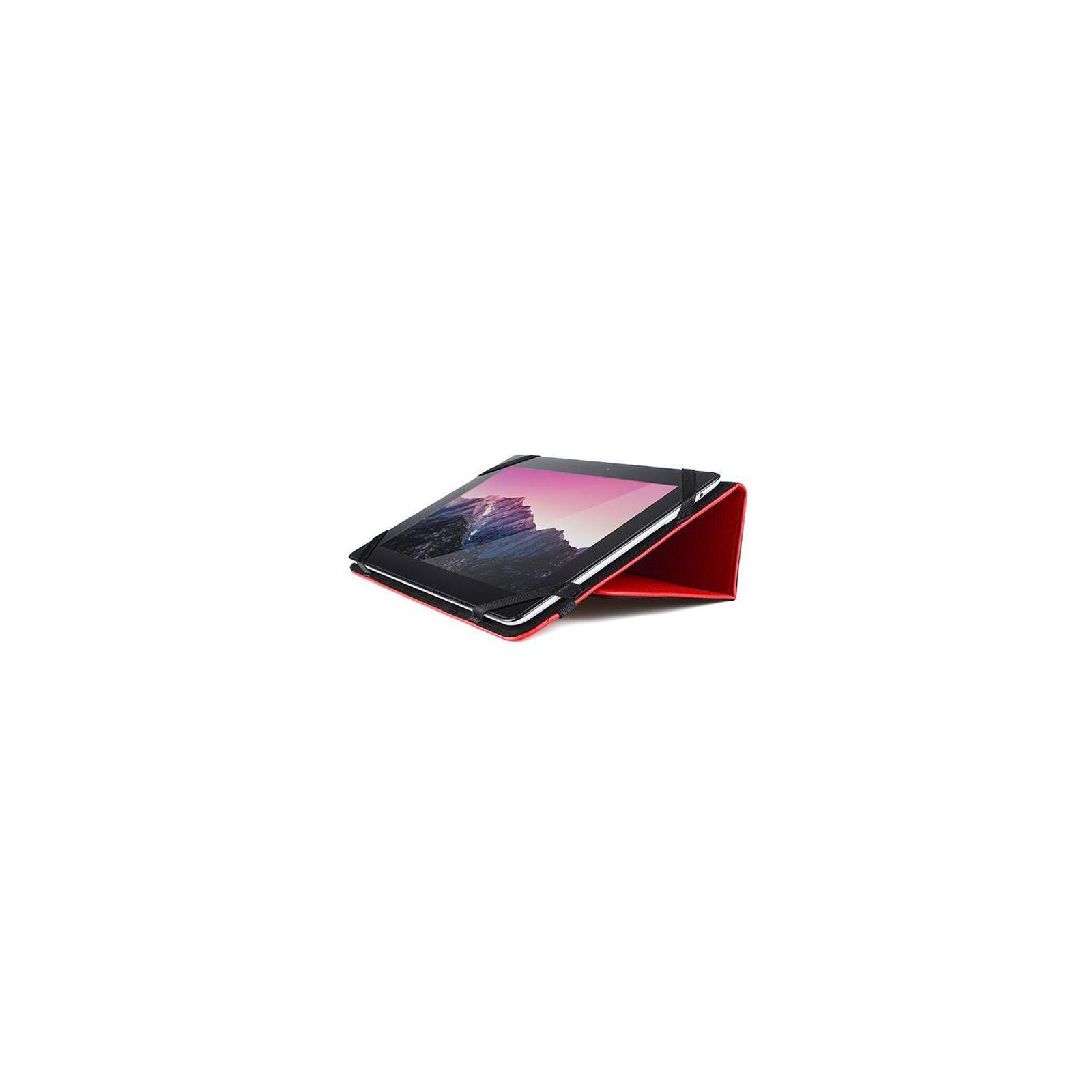 """Чехол для планшета Drobak 10""""-10.1"""" снежинки (Red) (446808) изображение 4"""