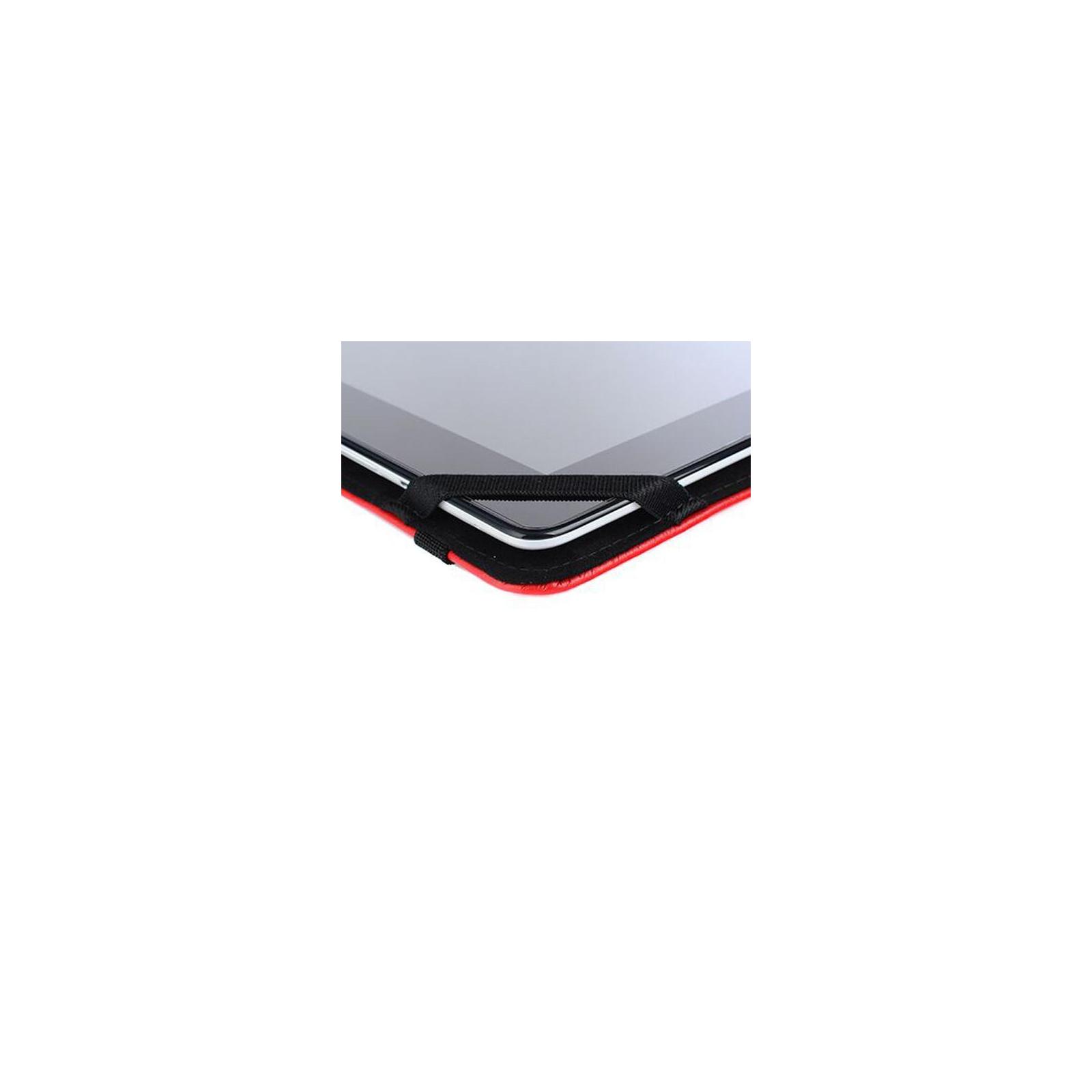 """Чехол для планшета Drobak 10""""-10.1"""" снежинки (Red) (446808) изображение 6"""
