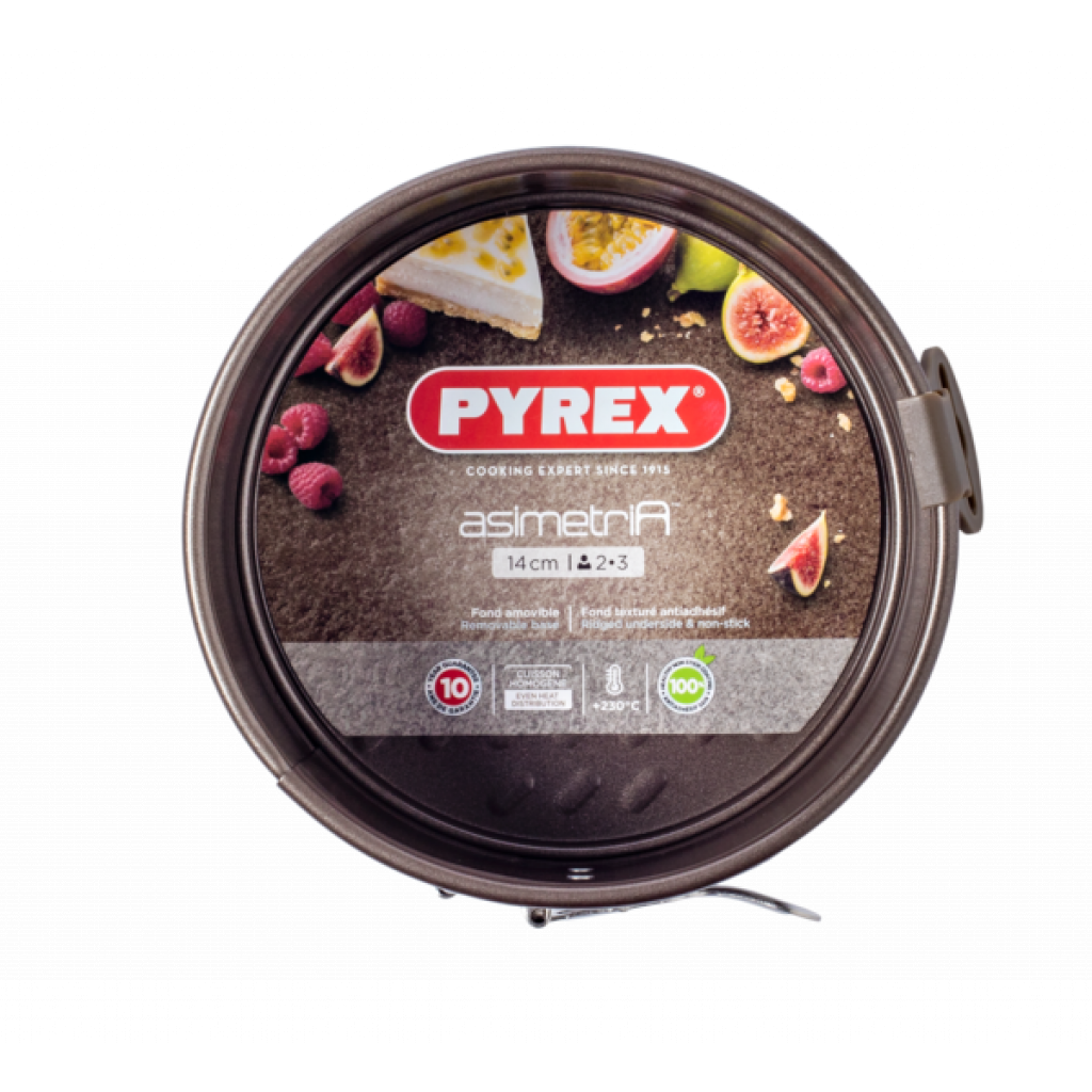 Форма для выпечки Pyrex Asimetria разъемная 14 см (AS14BS0)