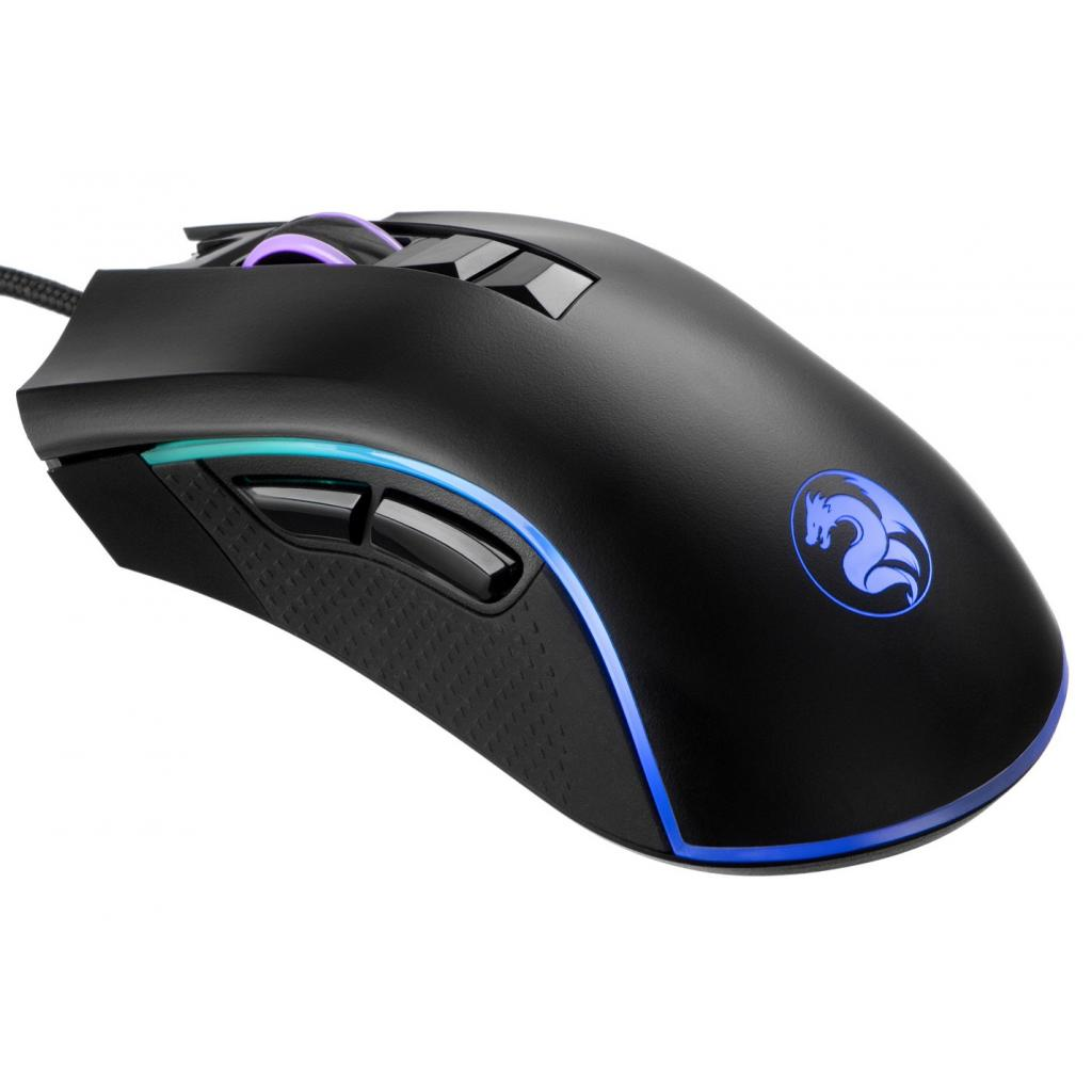 Мишка 2E MG340 RGB USB Black (2E-MG340UB) зображення 2