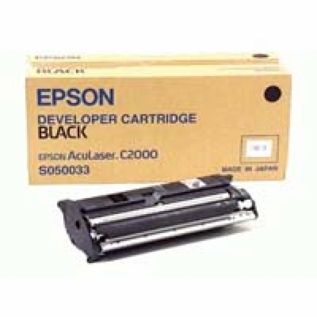 Картридж EPSON AcuLaser C1000/C2000 Black (C13S050033)