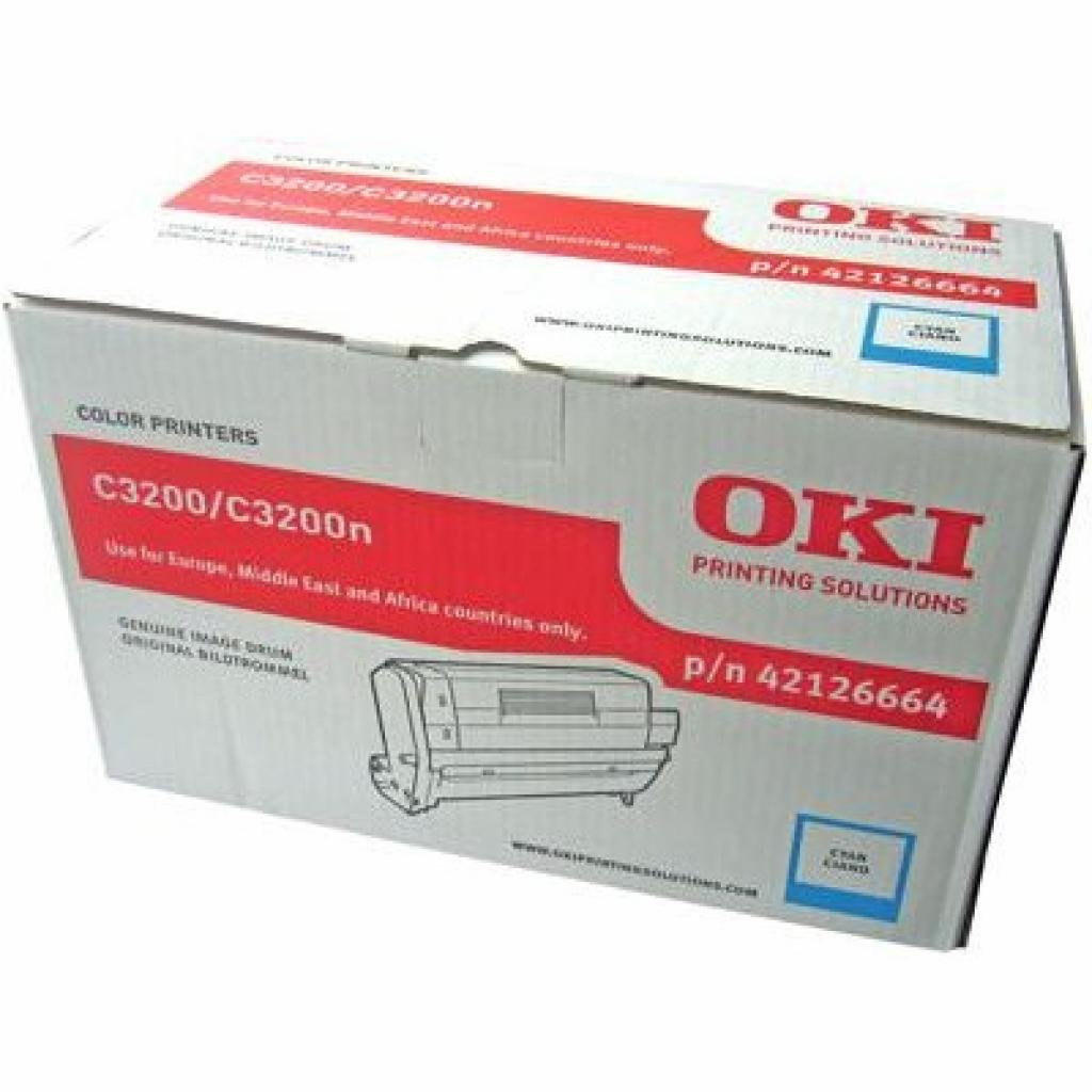 Фотокондуктор OKI C3200/3200N Cyan (42126664)