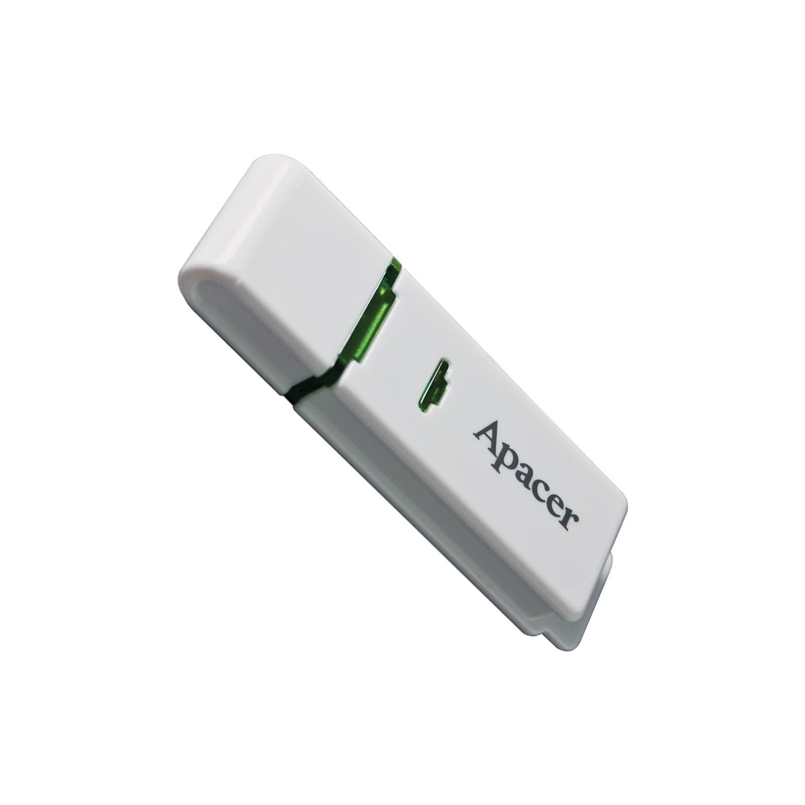 USB флеш накопитель Handy Steno AH223 white Apacer (AP8GAH223W-1) изображение 3