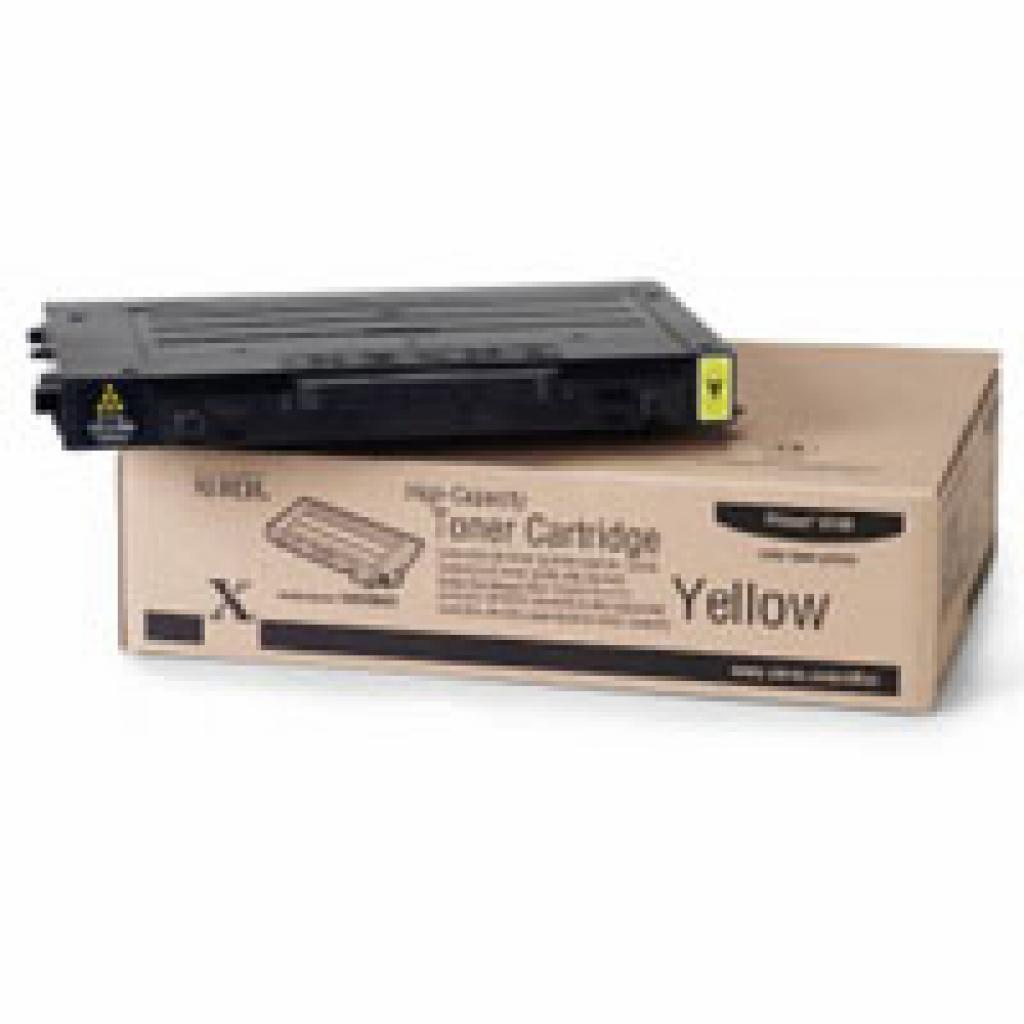 Тонер-картридж XEROX PH6100 (Max) Yellow (106R00682)