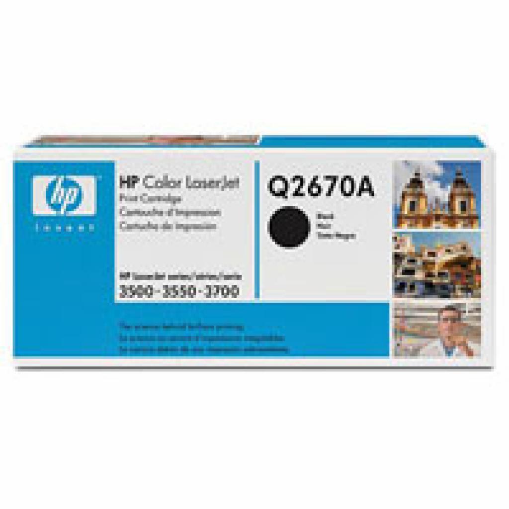 Картридж CLJ3500/3700 black HP (Q2670A)