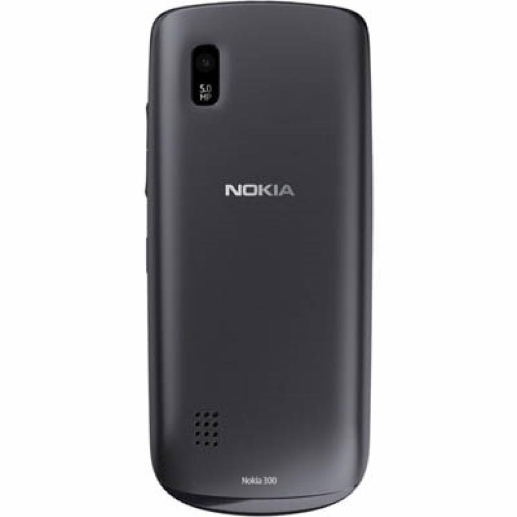 Мобильный телефон 300 (Asha) Graphite Nokia (A00003360) изображение 2