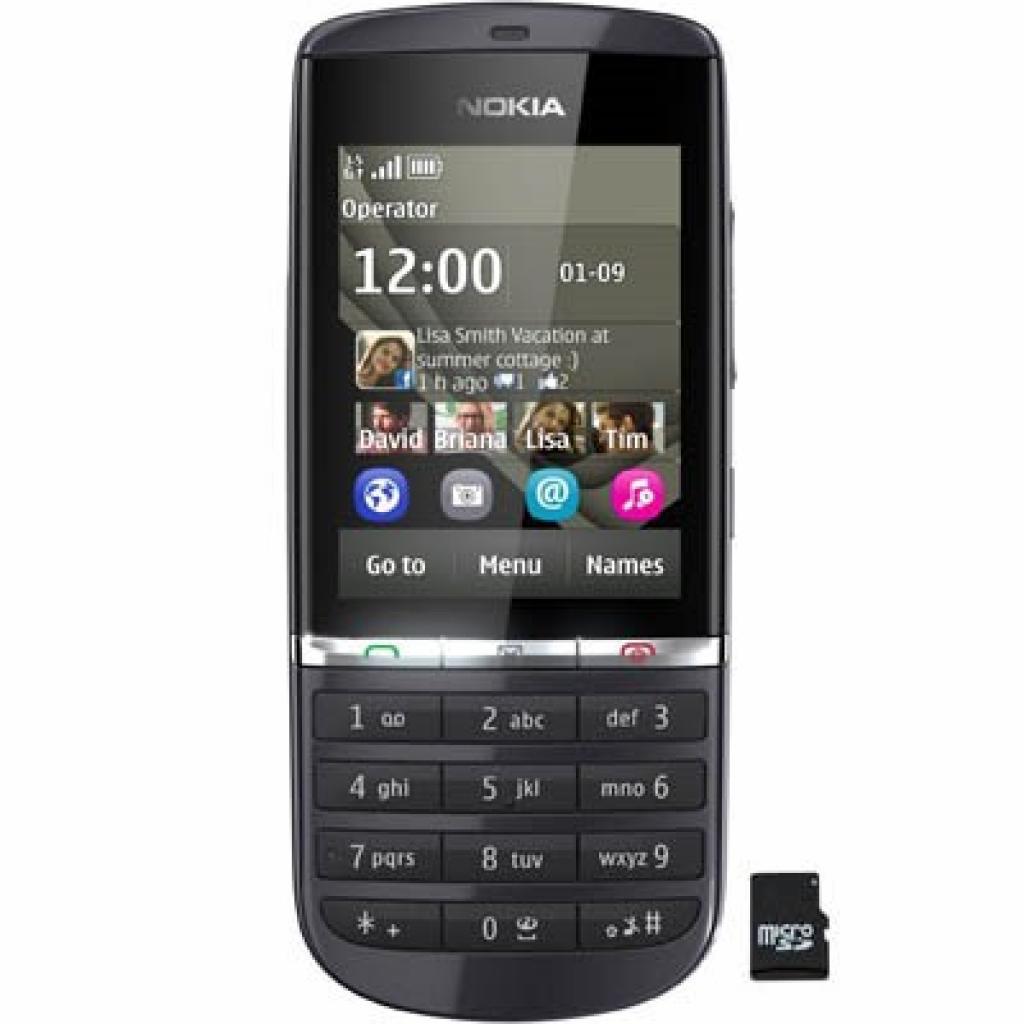 Мобильный телефон 300 (Asha) Graphite Nokia (A00003360)