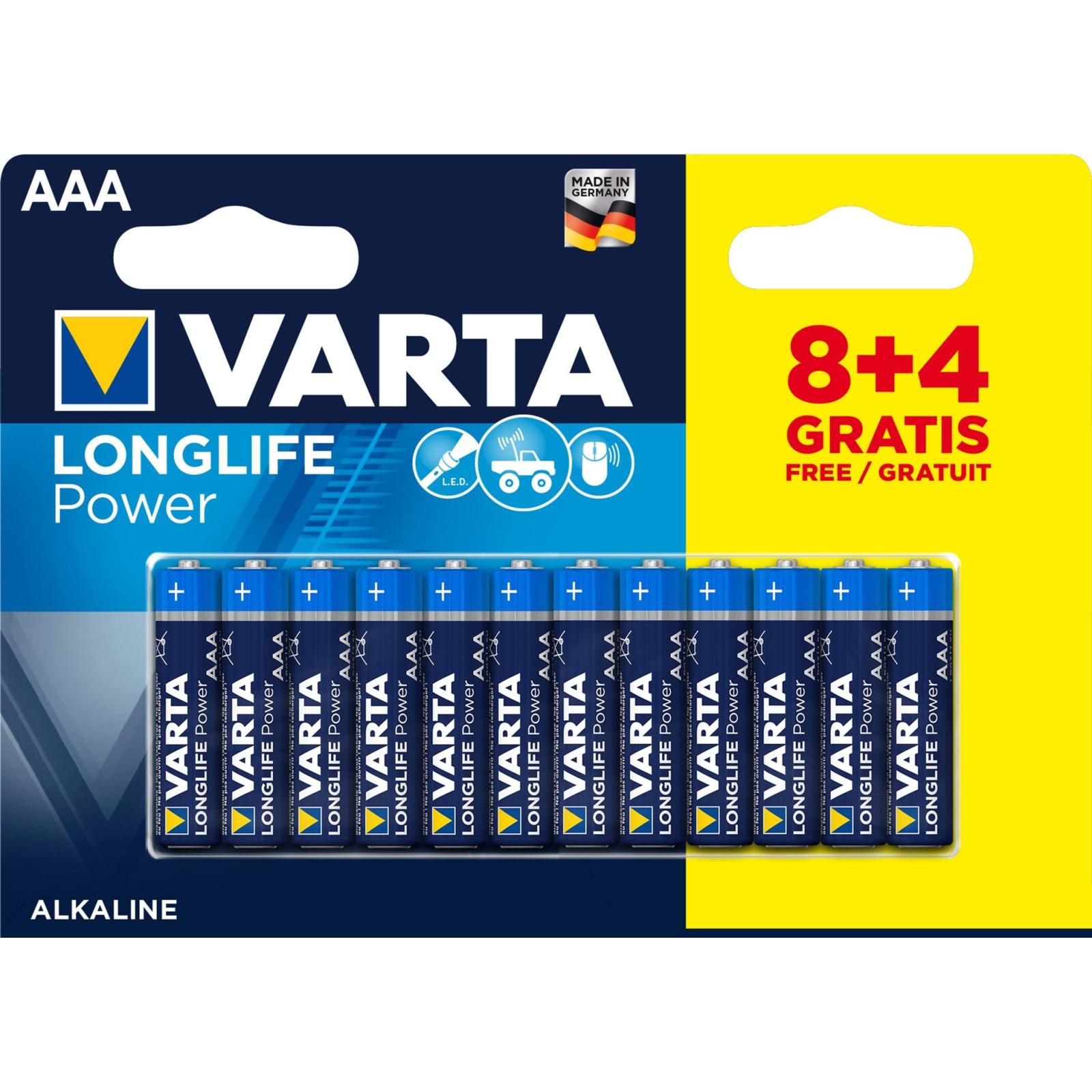 Батарейка Varta AAA Varta High Energy * 12 (4903121472)