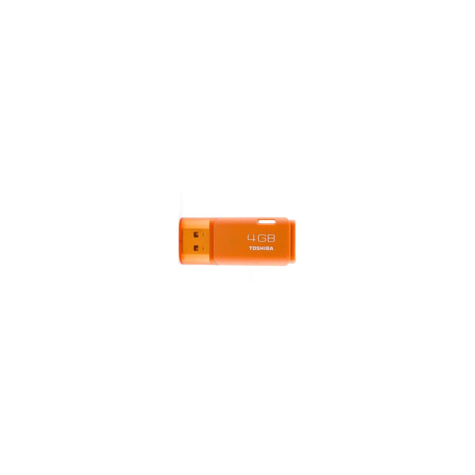 USB флеш накопитель TOSHIBA 4Gb HAYABUSA Orange (THNU04HAYORANG(BL5)