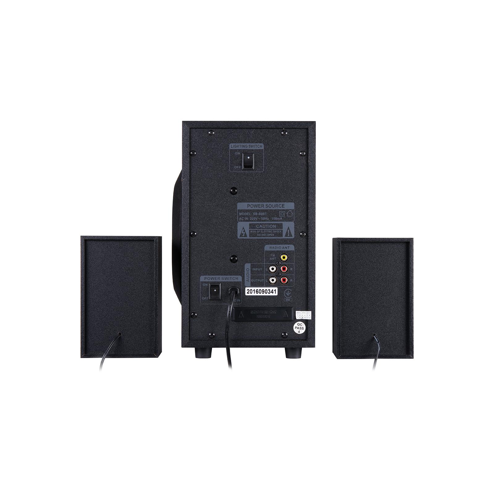 Акустическая система GEMIX SB-80BT black изображение 2