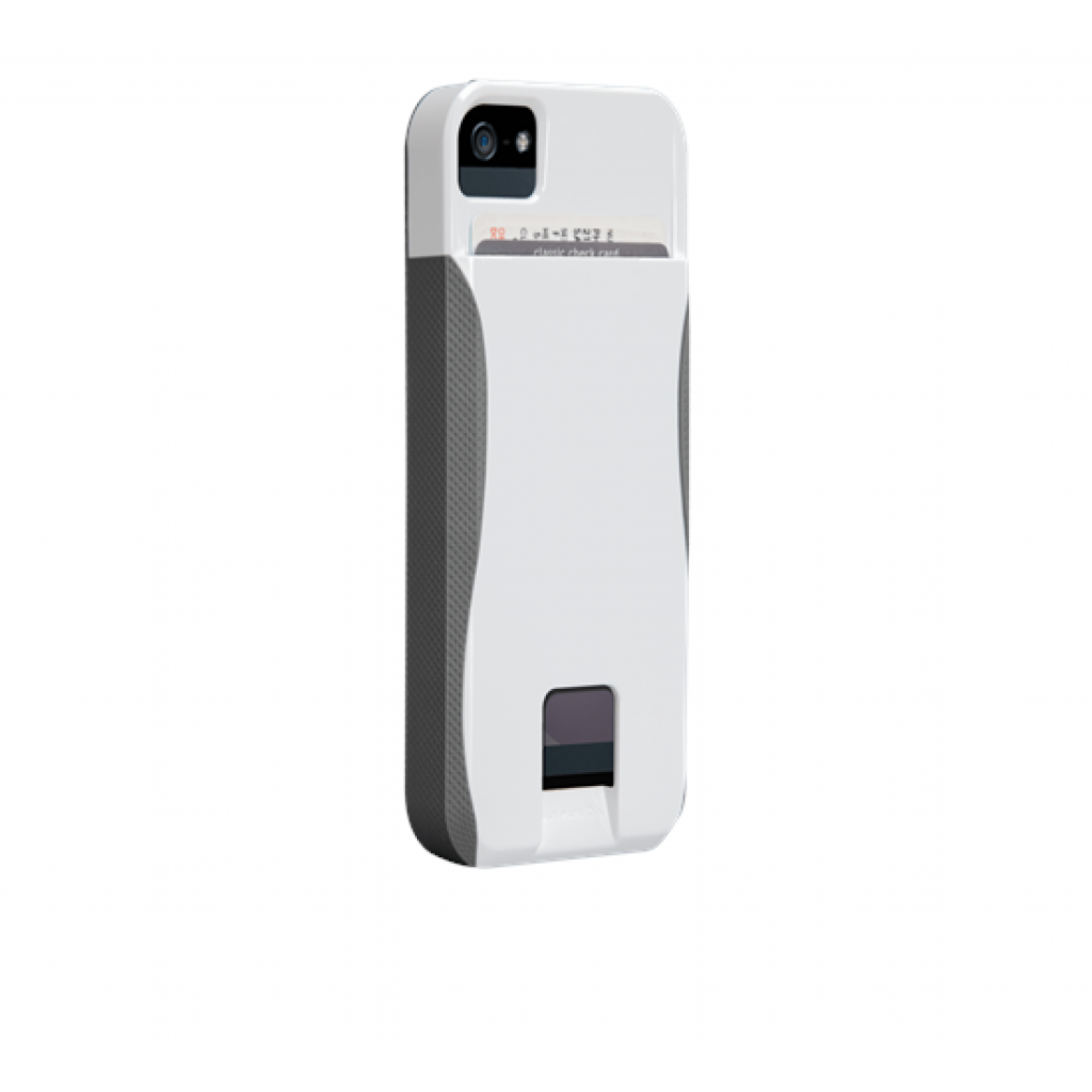 Чехол для моб. телефона Case-Mate для Apple iPhone 5 POP ID White/Titan (CM022406)