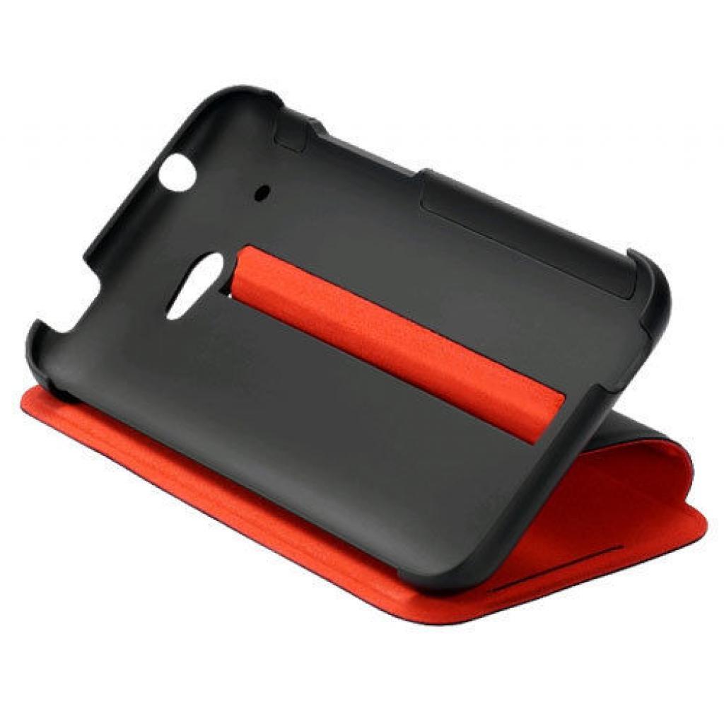 Чехол для моб. телефона HTC Desire 601 (HC V890 Black-Red) (99H11260-00)