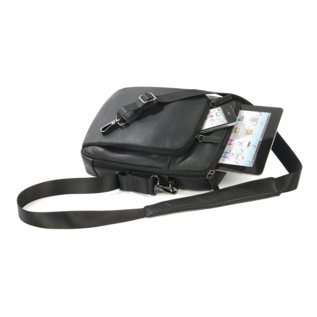 "Сумка для ноутбука Tucano 10"" One Premium shoulder bag/Black (BOPXS) изображение 3"