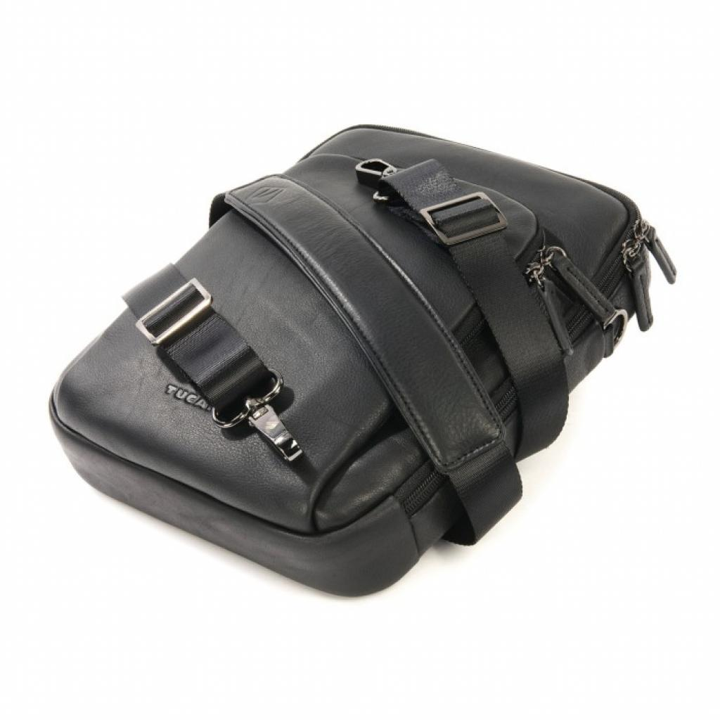 "Сумка для ноутбука Tucano 10"" One Premium shoulder bag/Black (BOPXS) изображение 6"