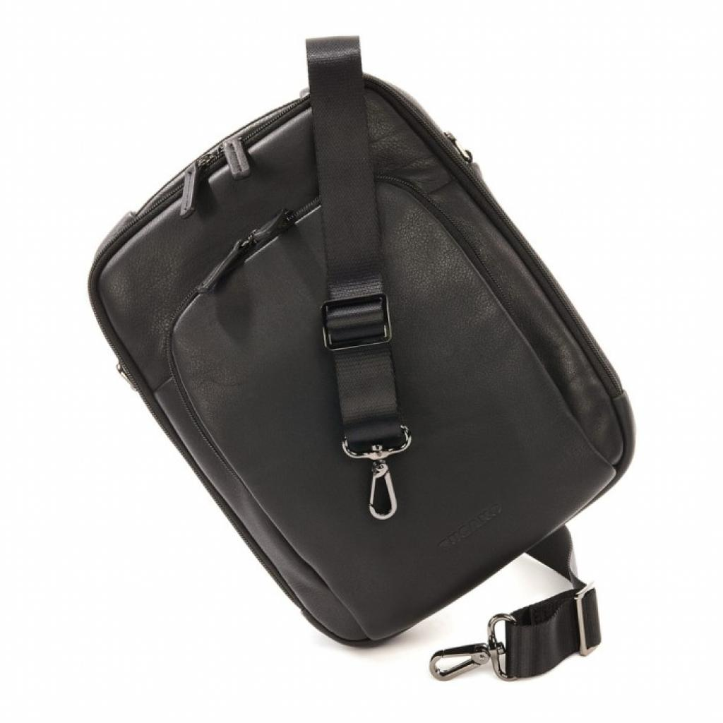 "Сумка для ноутбука Tucano 10"" One Premium shoulder bag/Black (BOPXS) изображение 8"