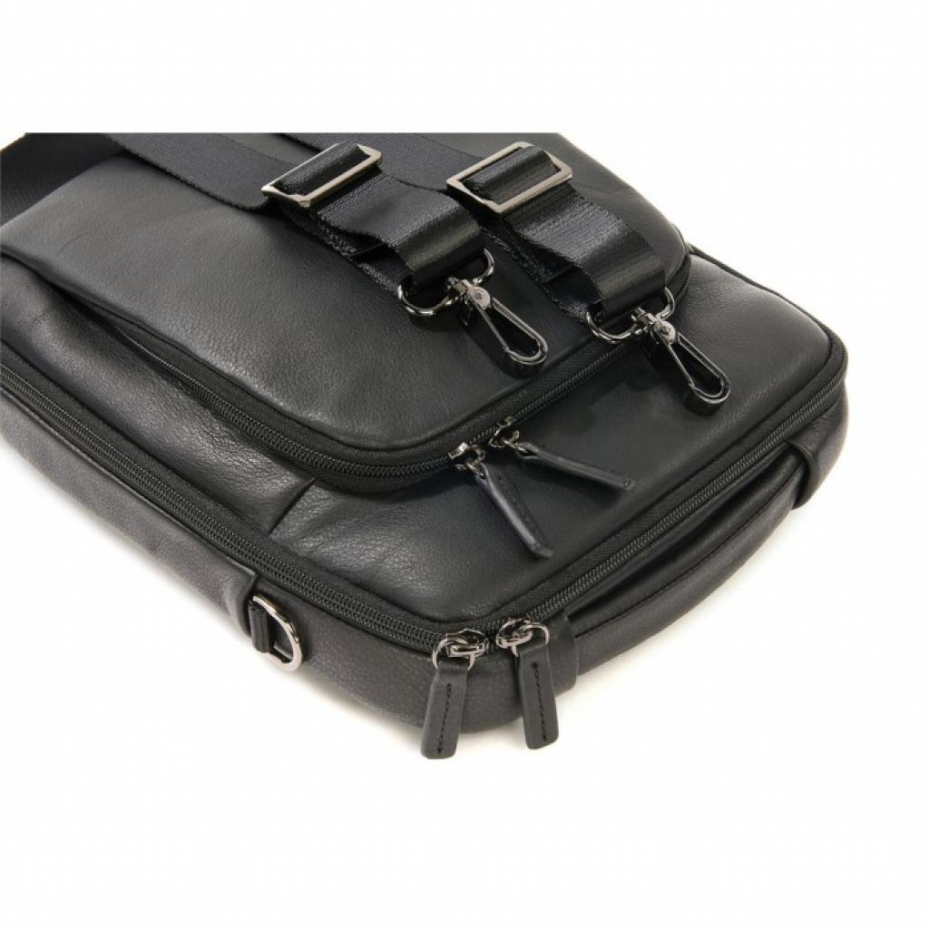 "Сумка для ноутбука Tucano 10"" One Premium shoulder bag/Black (BOPXS) изображение 9"