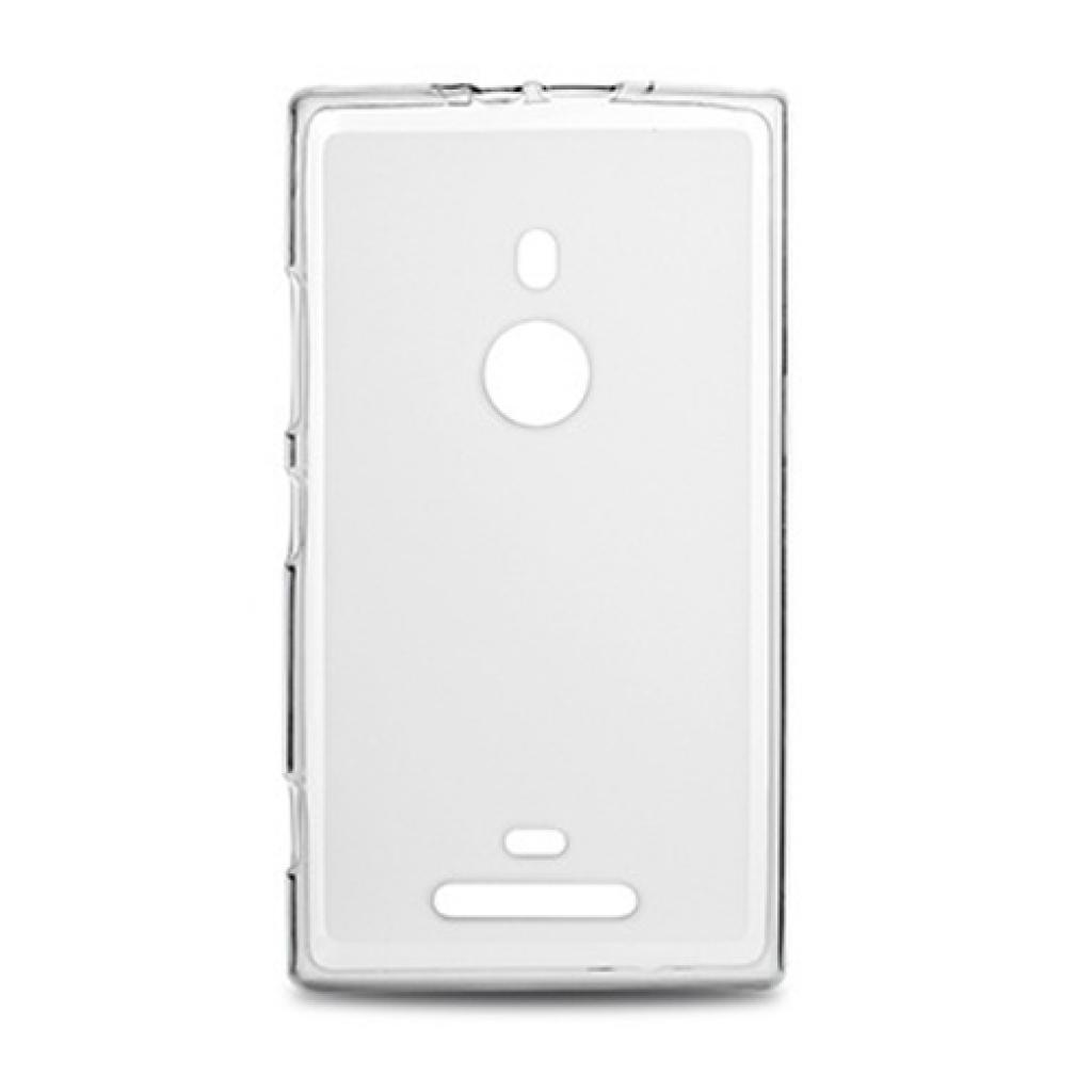 Чехол для моб. телефона Drobak для Nokia 925 Lumia /Elastic PU/White Clear (216394)