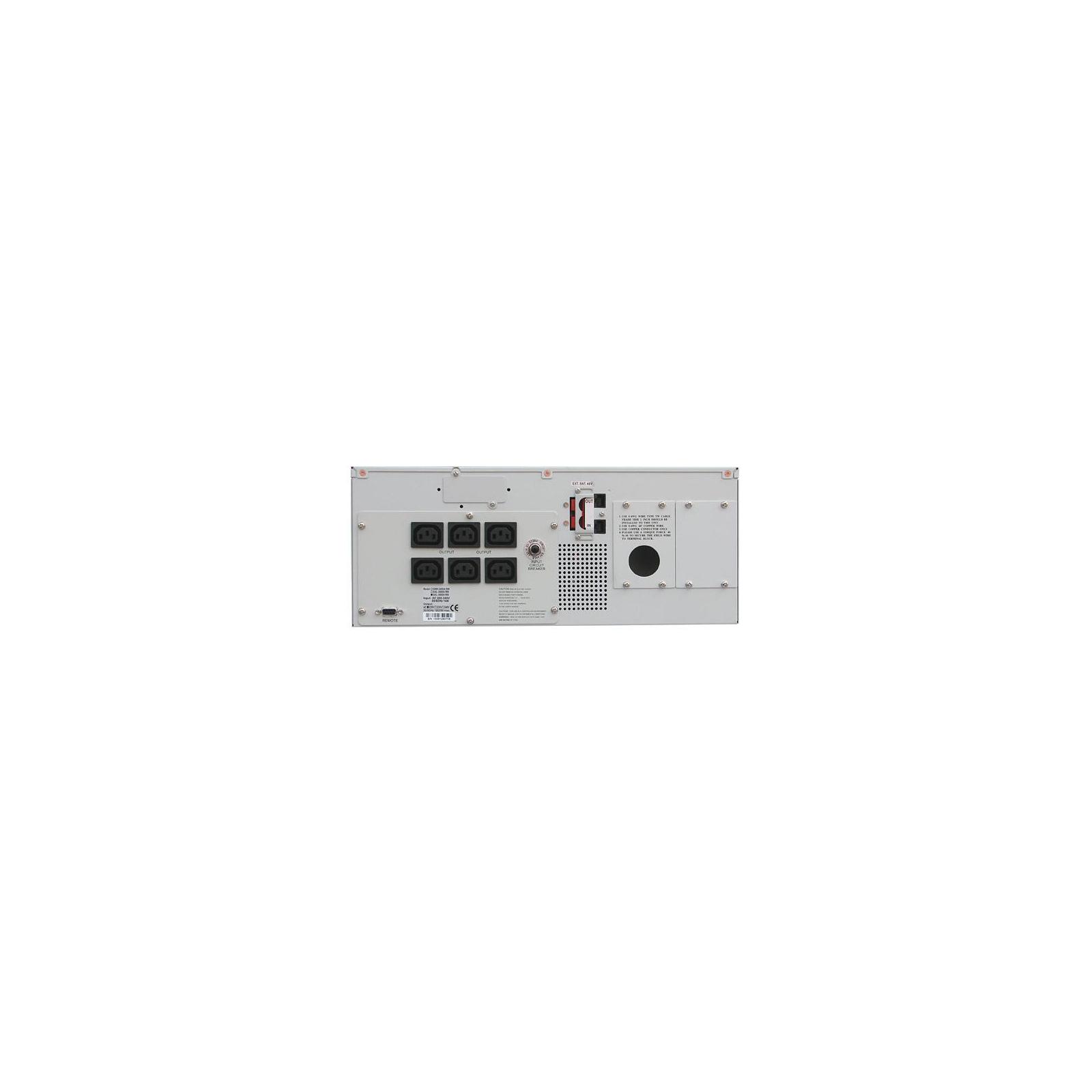 Источник бесперебойного питания Powercom SXL-1500A-LCD RM (RXL-1K5A-6GC-2440) изображение 2