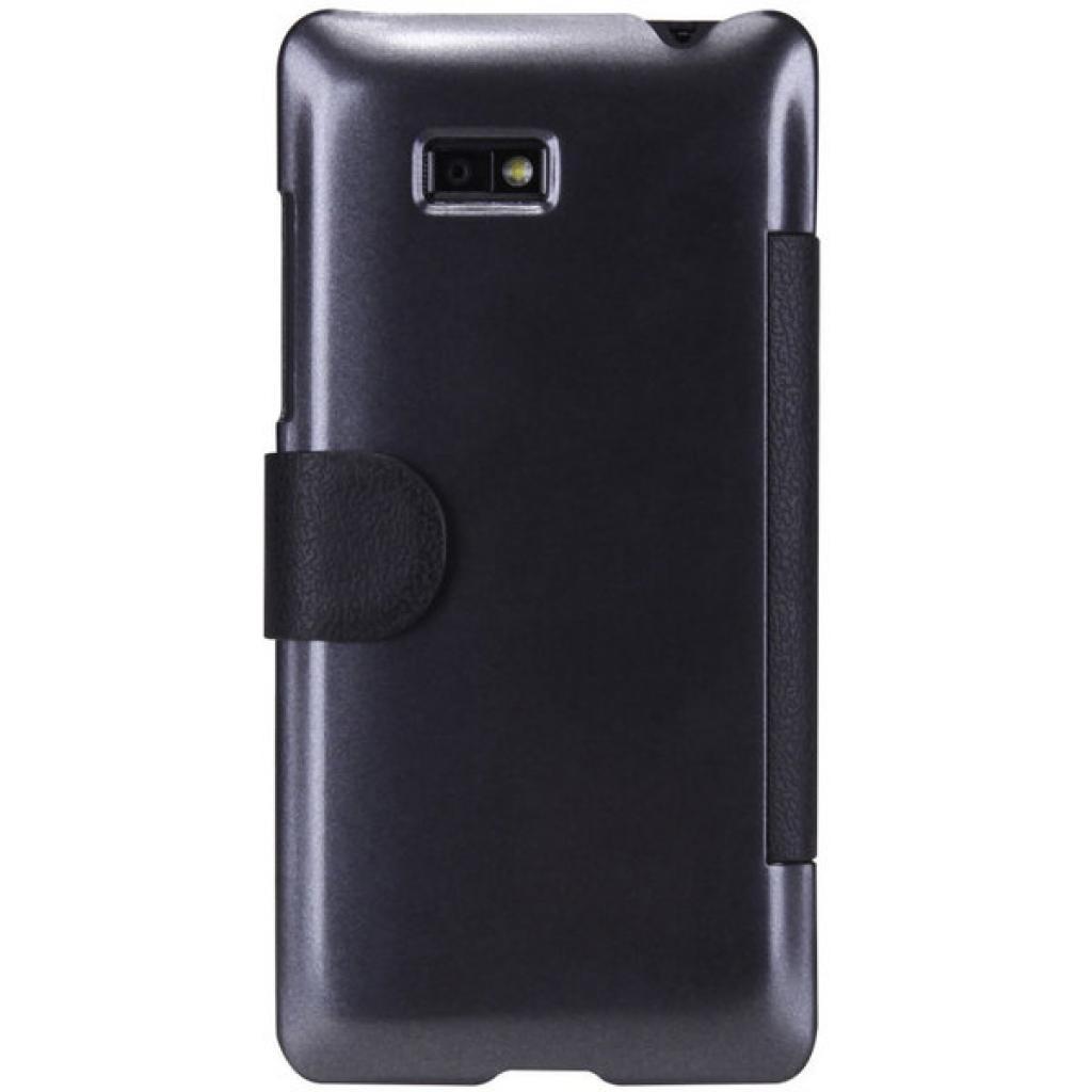 Чехол для моб. телефона NILLKIN для HTC Desire 600 /Fresh/ Leather/Black (6088697) изображение 2