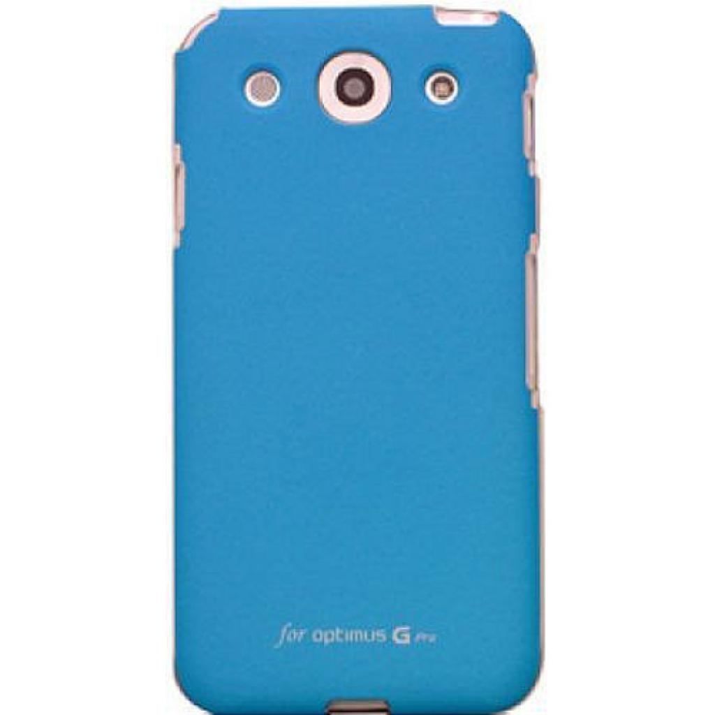 Чехол для моб. телефона VOIA для LG E988 Optimus G Pro /Jell skin/Blue (6068270)