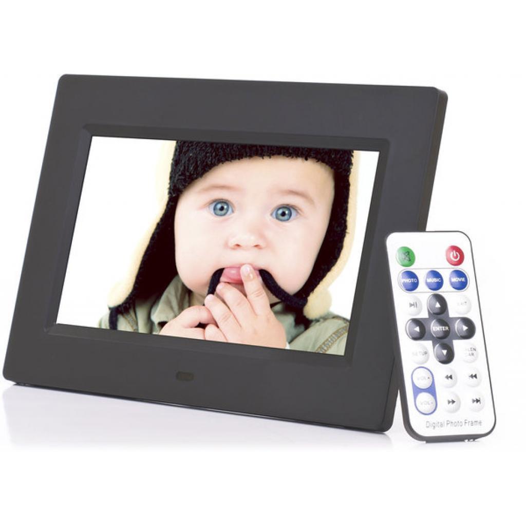 Цифровая фоторамка Ergo NT-2807 Black