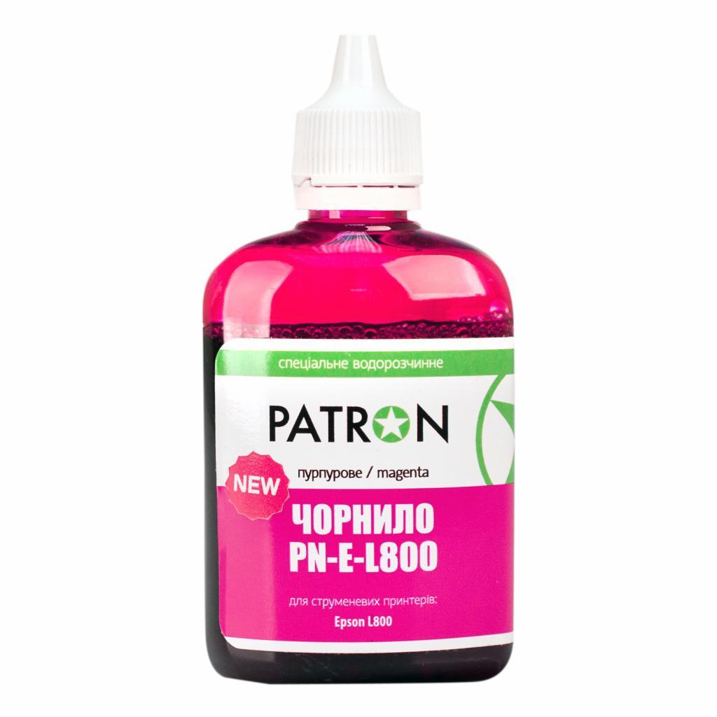 Чернила PATRON EPSON L800 90г(NEW) MAGENTA/PN-E-L800N-412 (I-PN-E-L800N-090-M)