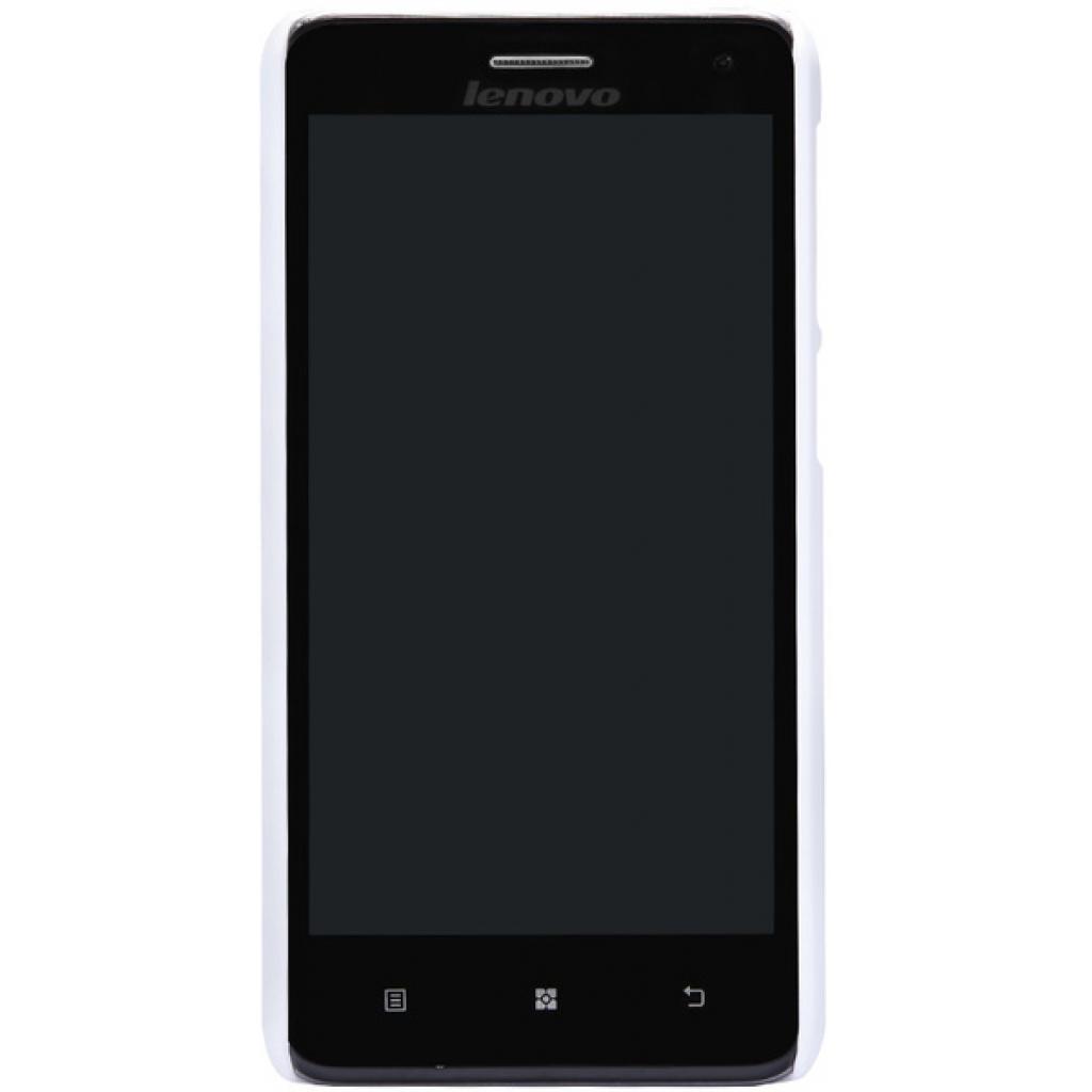Чехол для моб. телефона NILLKIN для Lenovo S660 /Super Frosted Shield/White (6147137) изображение 5