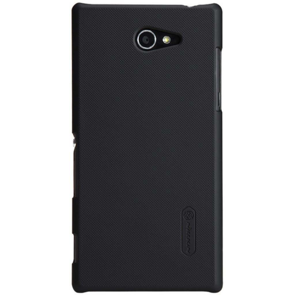 Чехол для моб. телефона NILLKIN для Sony Xperia M2 /Super Frosted Shield/Black (6147172)
