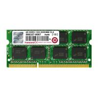 Модуль памяти для ноутбука SoDIMM DDR3 4GB 1333 MHz Transcend (TS512MSK64V3H)