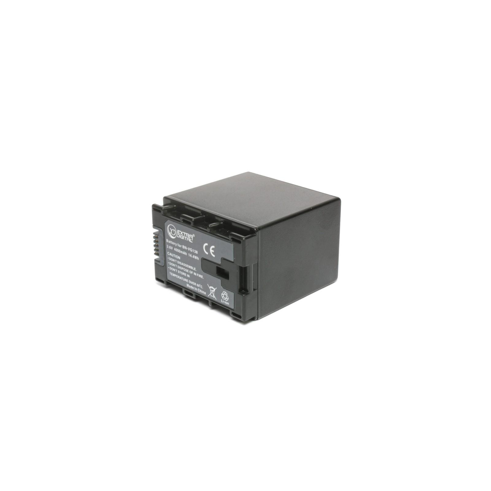 Аккумулятор к фото/видео EXTRADIGITAL JVC BN-VG138 (chip) (BDJ1312) изображение 2
