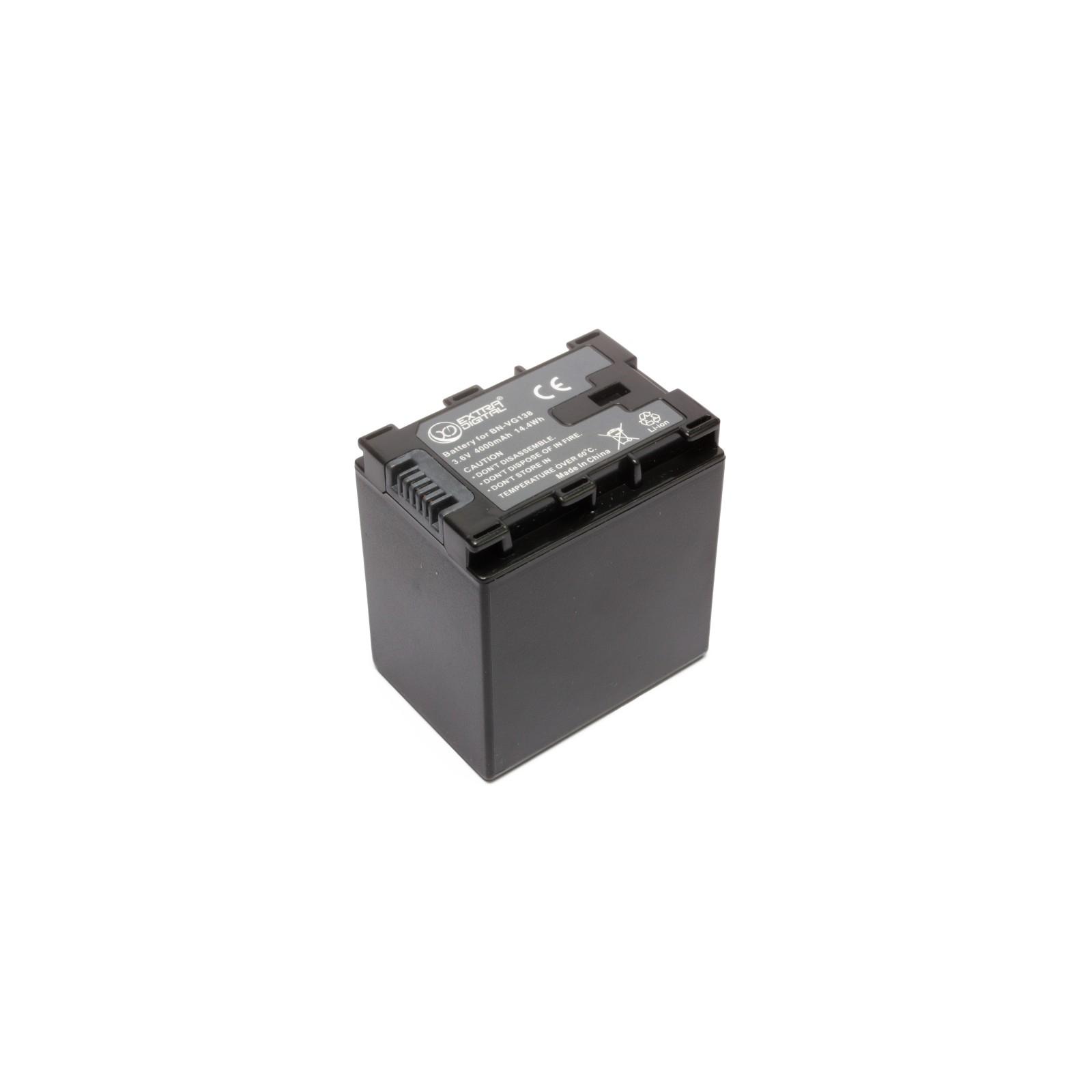 Аккумулятор к фото/видео EXTRADIGITAL JVC BN-VG138 (chip) (BDJ1312) изображение 4