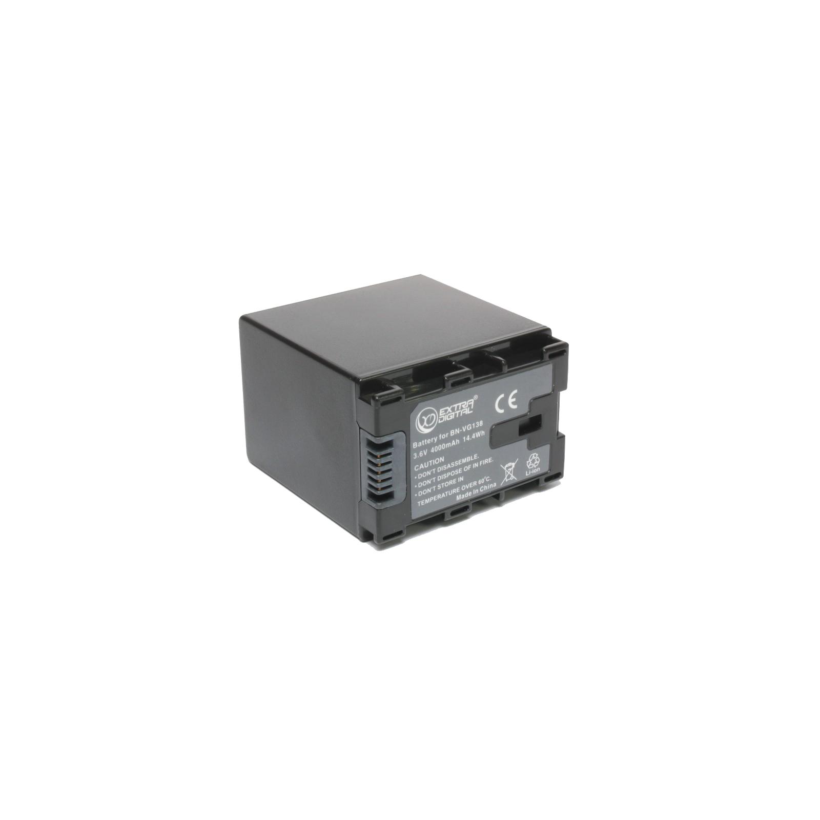 Аккумулятор к фото/видео EXTRADIGITAL JVC BN-VG138 (chip) (BDJ1312)