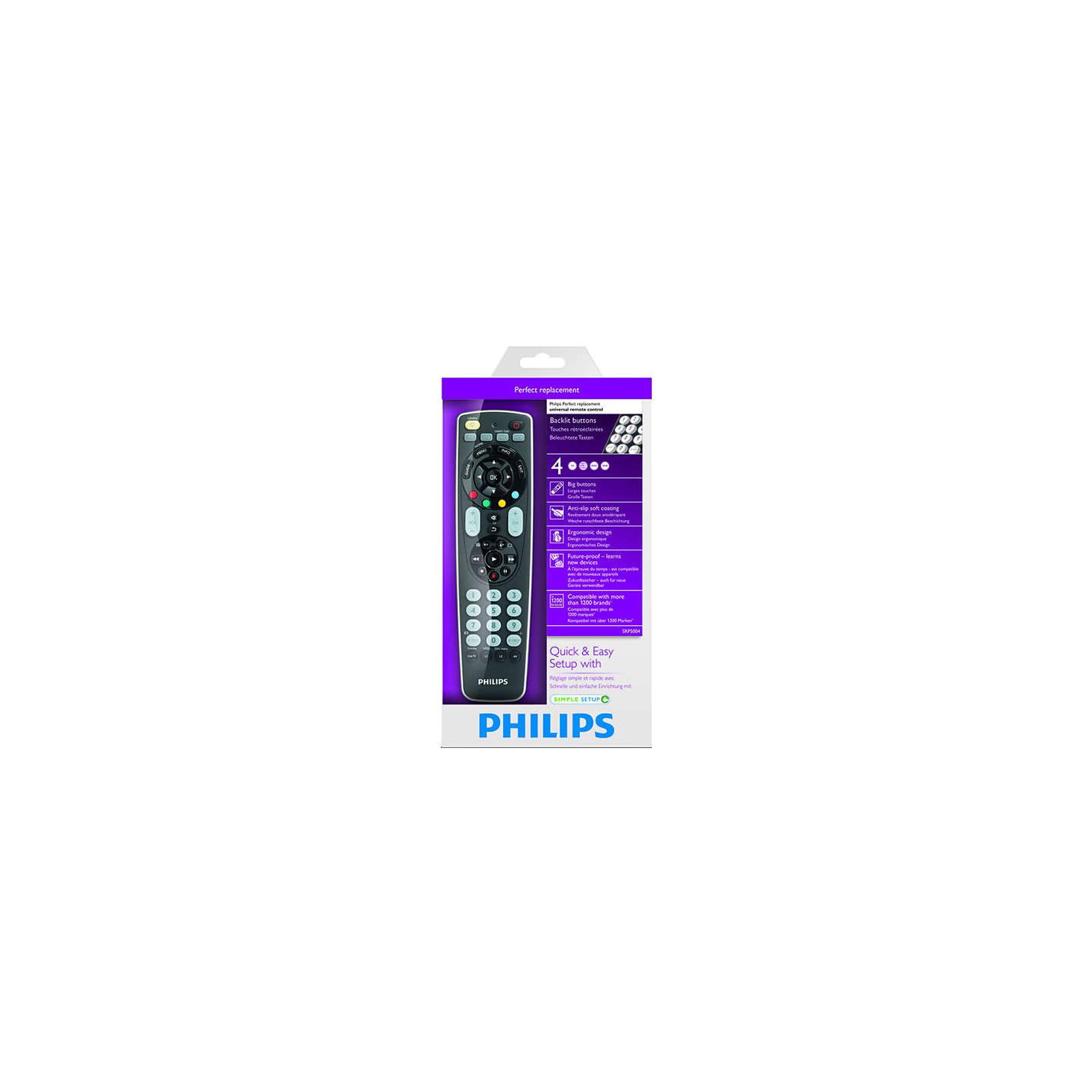 Пульт ДУ для телевизора PHILIPS SRP5004 (SRP5004/53) изображение 6