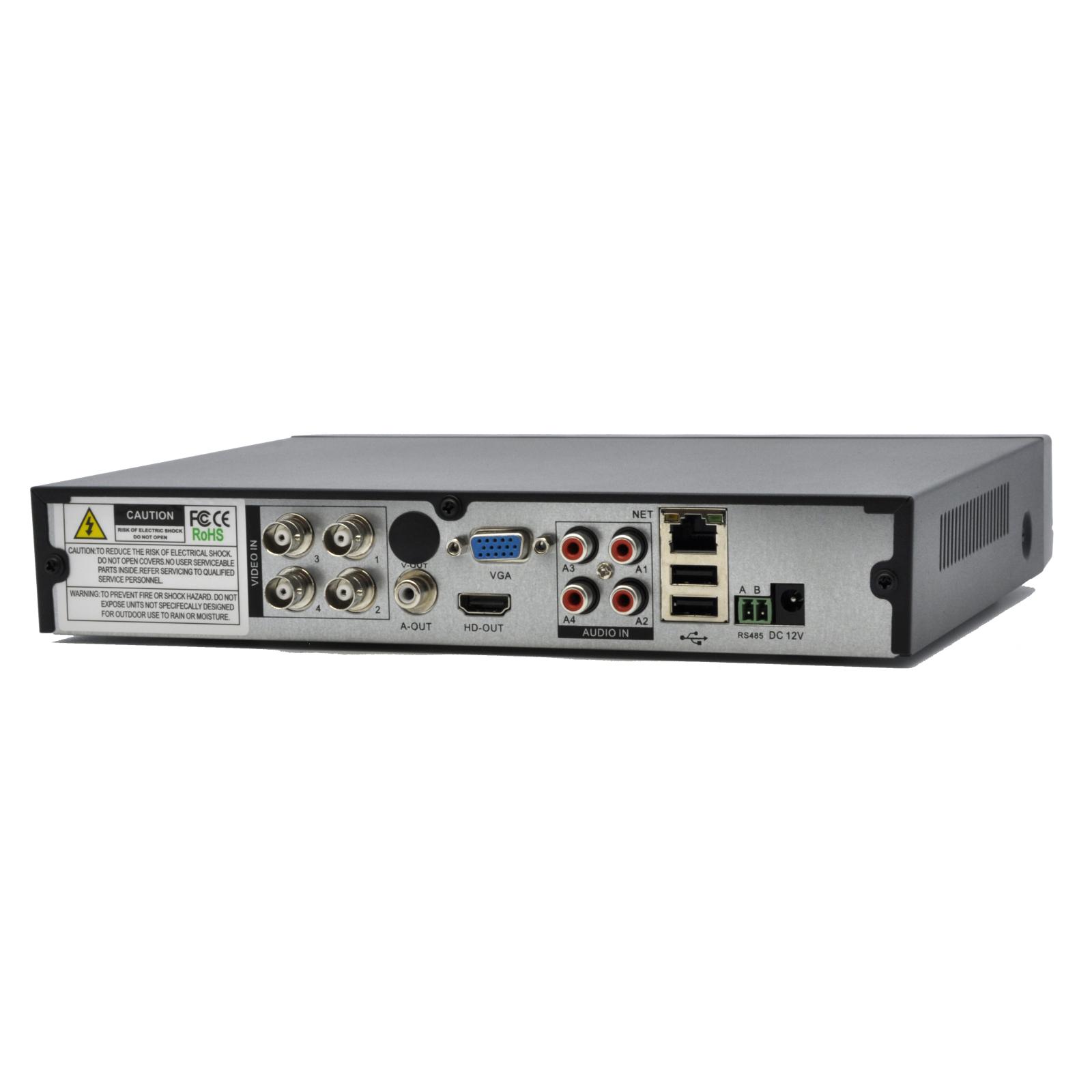 Регистратор для видеонаблюдения GreenVision AHD GV-A-S 030/04 (4237) изображение 4